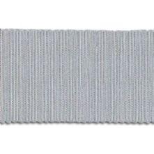 Silver Grey Milliner's Petersham Ribbon in 2 Widths